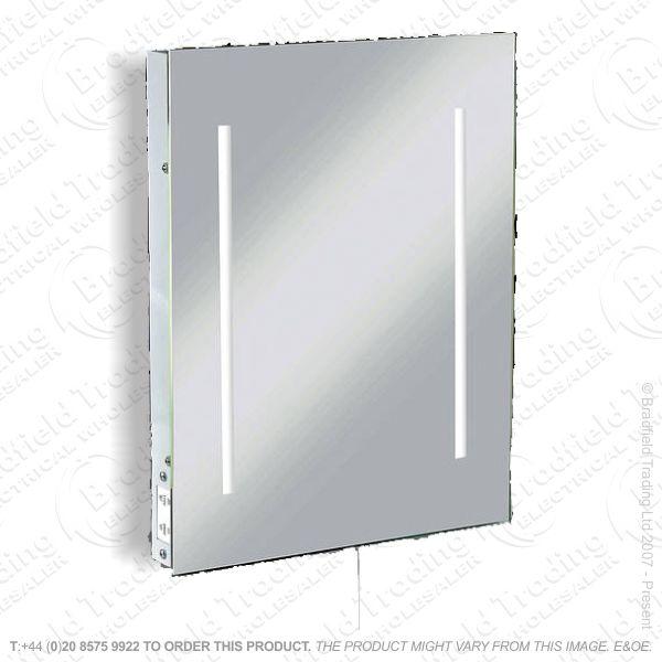 B34) LED Bathroom Mirror +Shaver Soc