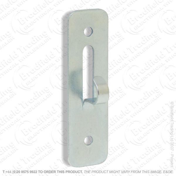 B02) Steel Hook Plate 2 screw fix