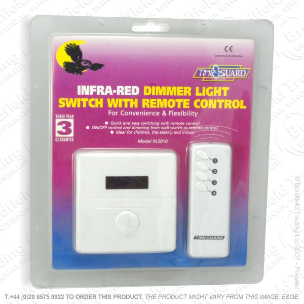 I12) Dimmer Remote MV 1G 2w 300W whiteTIM