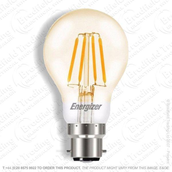 A19) 4.2W LED Fillament BC Gold GLS Box ENE
