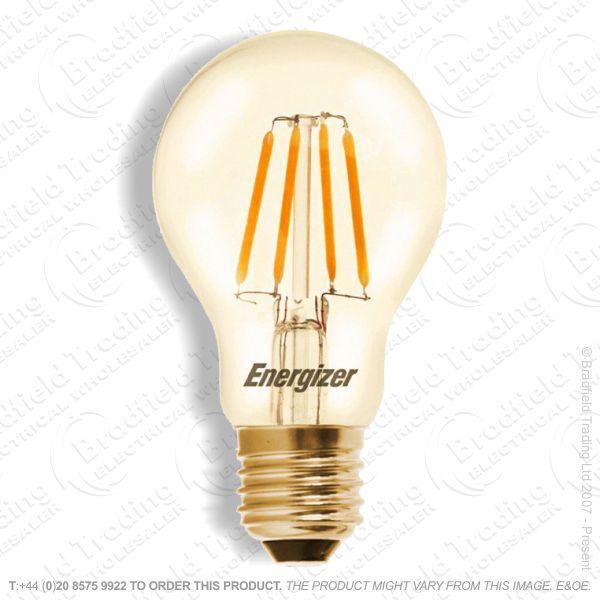 A19) 4.2W LED Fillament ES Gold GLS Box ENE