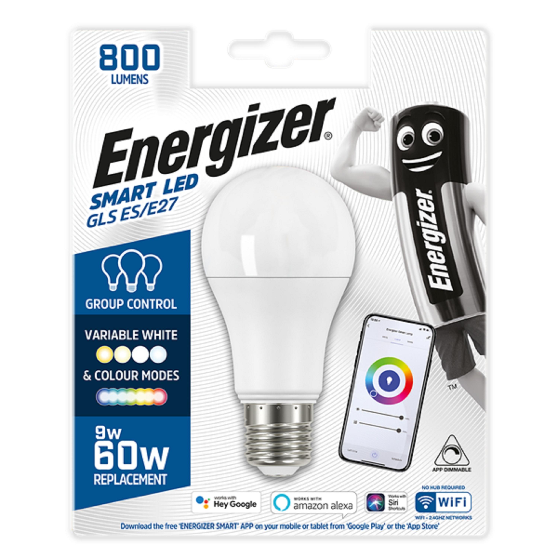 9W LED Smart ES WiFi GLS RGBW CCT ENERGIZER