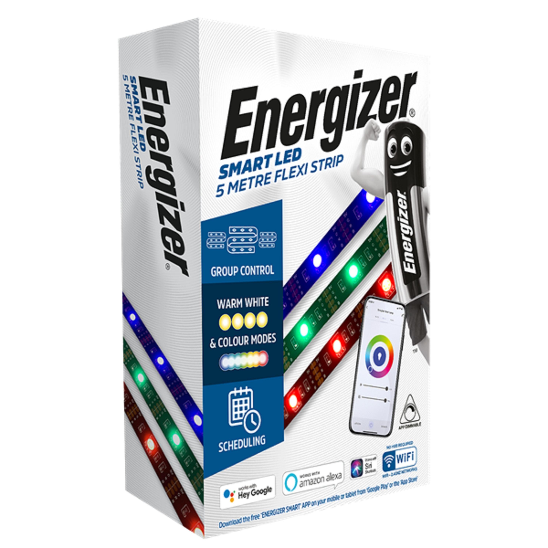 LED Flex 5M RGBW Kit Adhesive IP44 ENERGIZER