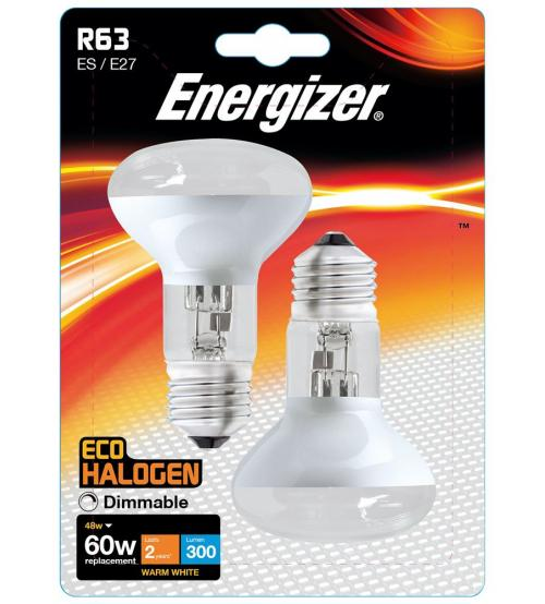 Reflector R63 ES 48W Halogen pk2 ENERGIZER