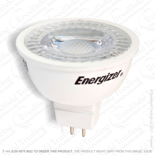 A43) LED 4.8W MR16 4000K 360lm ENERGIZER
