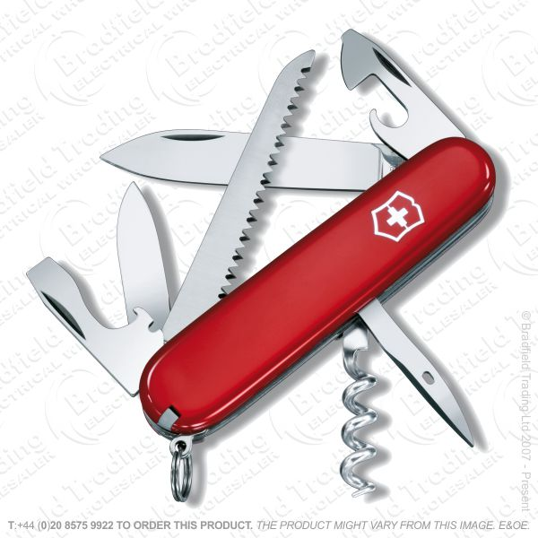 G43) Swiss Army Knife CAMPER 3.5  10t 3l red