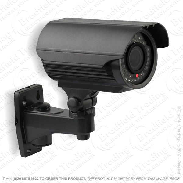 E37) CCTV Bullet Camera 700TVL IR 4-9mm SAC