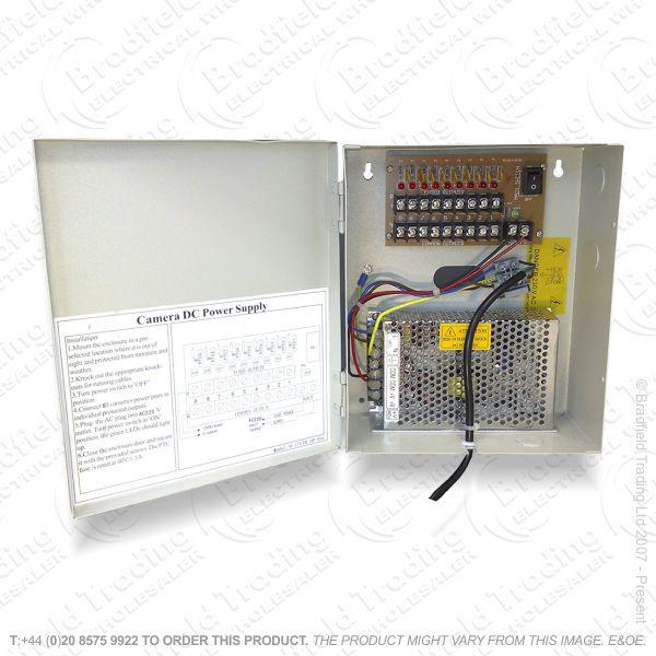 E37) CCTV 12V 10mp Power Supply PSU 9out SAC