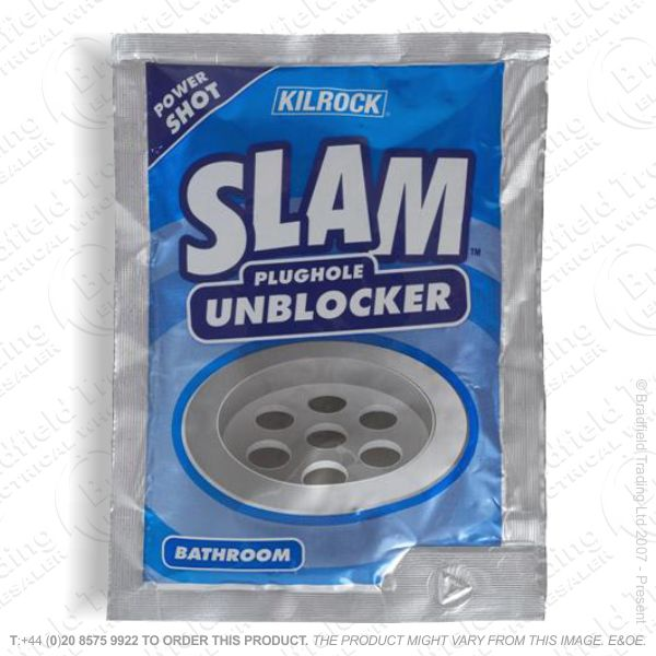 C22) Slam Plughole Bath Unblocker (12) KILRO