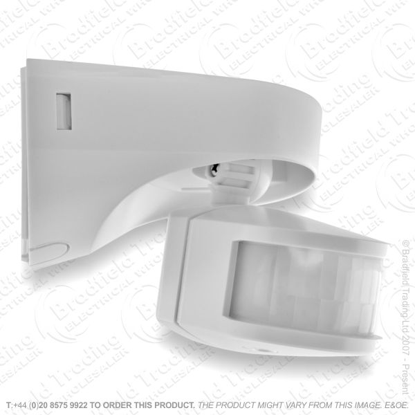 Wall Mounted PIR Sensor 2300w White TIME