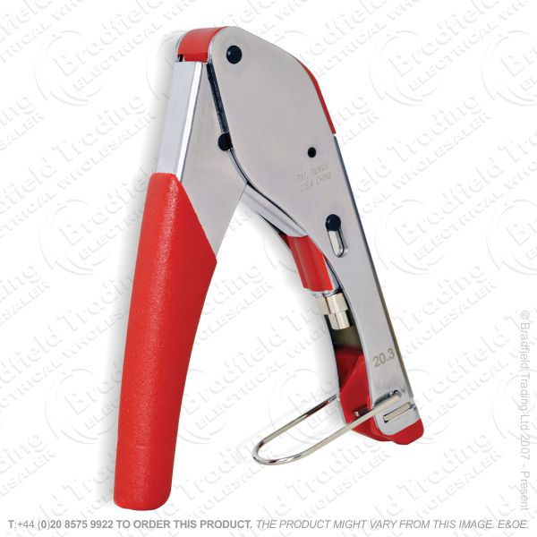 G41) Pliers Crimping Ratchet RG6   F typ
