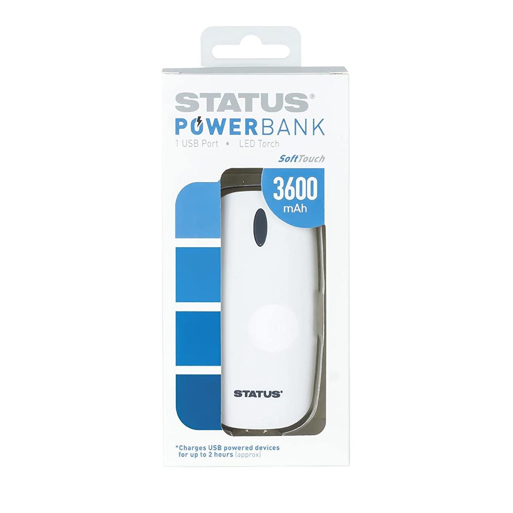 Power Bank 3600mAH USB STATUS