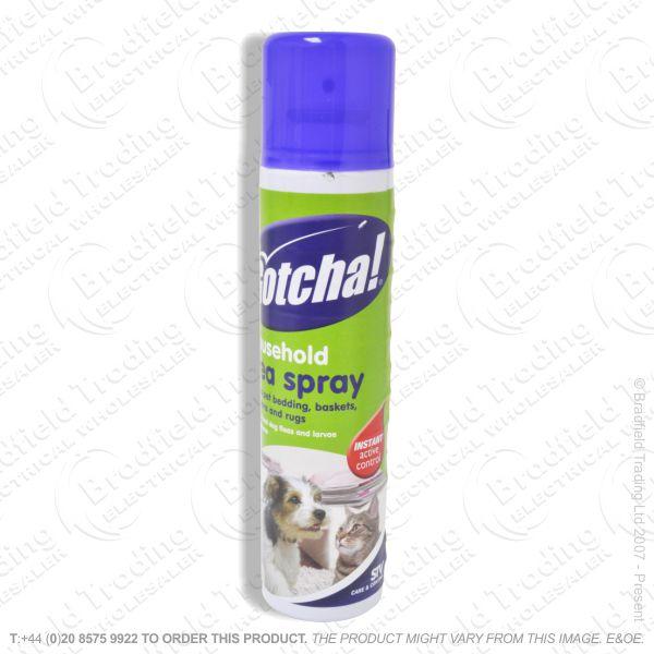 C26) Household Flea Killer Spray 300g