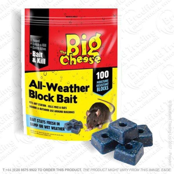 C29) All-Weather Killer Bait 100 Blocks