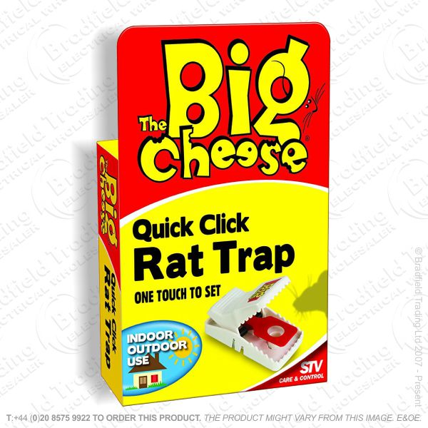 C28) PestC Rat Traps Quick Click