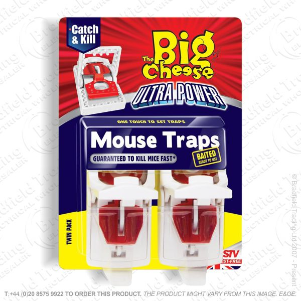 C29) Ultra Power Mouse Traps 2pc