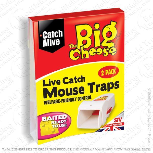 C29)  Mouse Traps Live Catch RTU Pk2