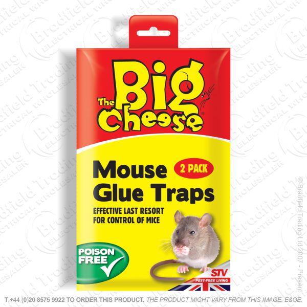 C29) Mouse Glue Traps RTU Pk2 STV