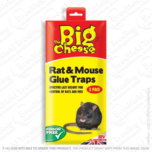 C28) PestC Rat Glue Traps RTU Pk2