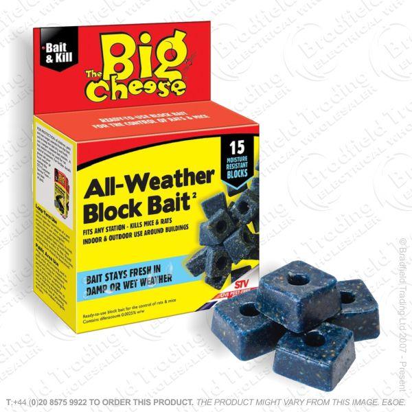 C29) All-Weather Killer Bait 15 Blocks STV