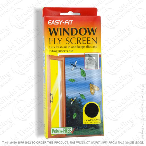 C26) PestC Fly Screen Window Easy Fit