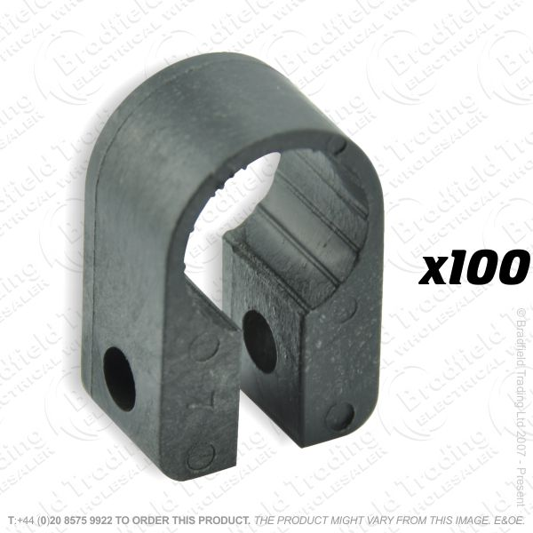 H12) Cable Cleats No6 15.2mm (100) 6.0 3c