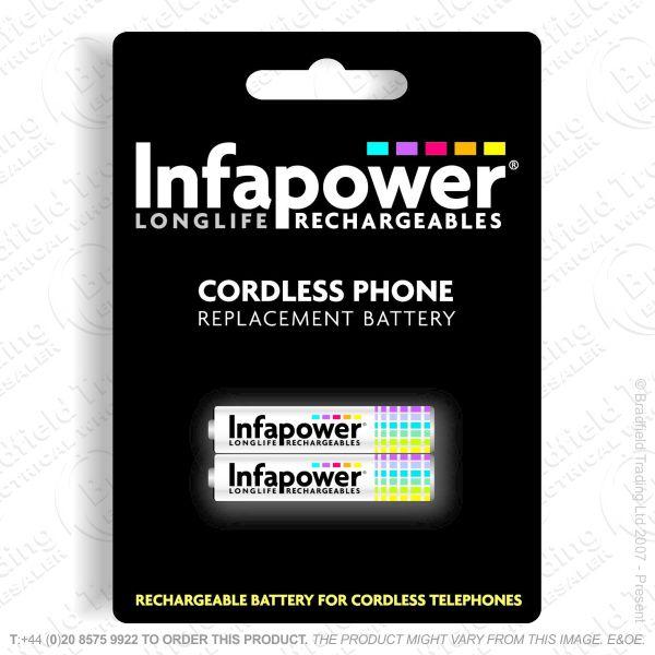 E13) Battery Phone 2x AAA 59 NiMh INFAPOWER
