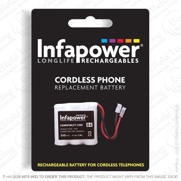 E13) Recharchable Batt Phone 3x2/3 AAA 84