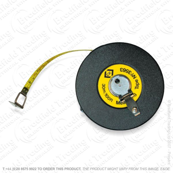G51) Steel Tape Measure 30m/100ft
