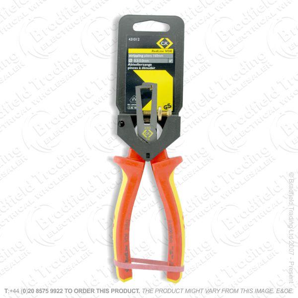 G41) Pliers Stripping 160mm VDE 1000v CK