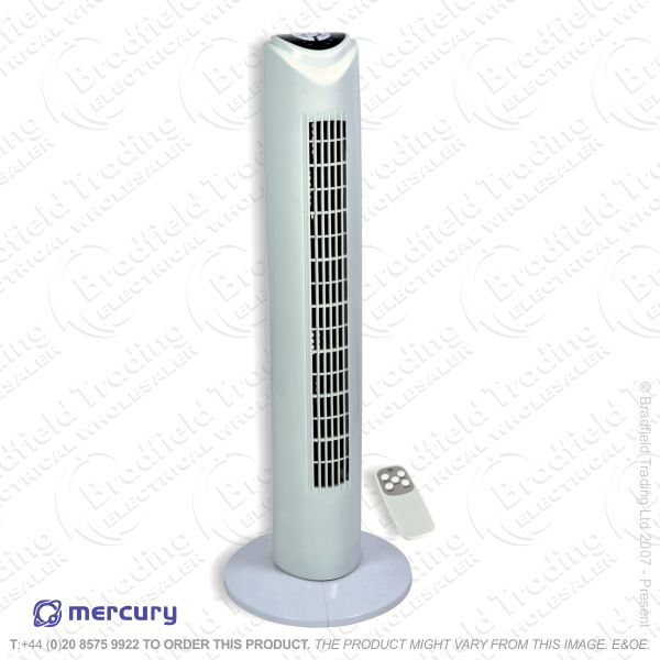D07) Fan Tower 32  48W white MERCURY