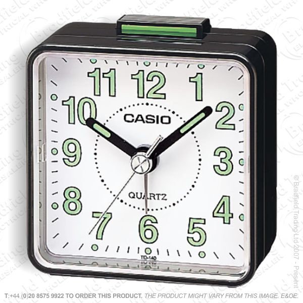 C30) Alarm Clock Beep CASIO Black