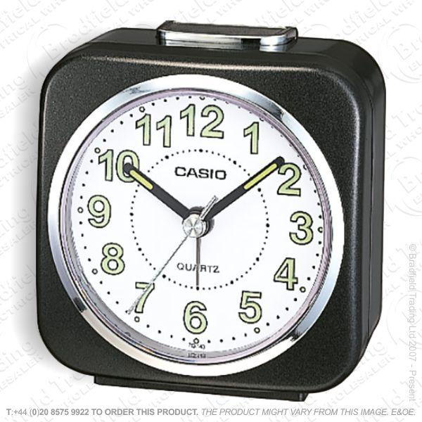 C30) Alarm Clock Light/Snooze CASIO Black