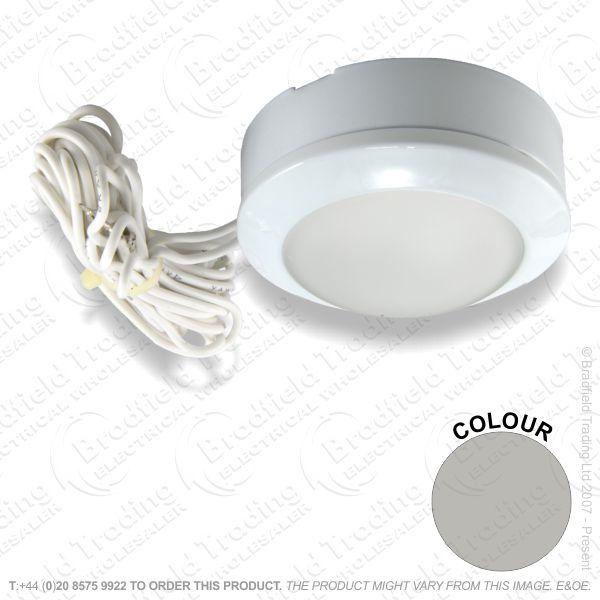 B26) Downlight LV Cabinet FlushS/nickel G4
