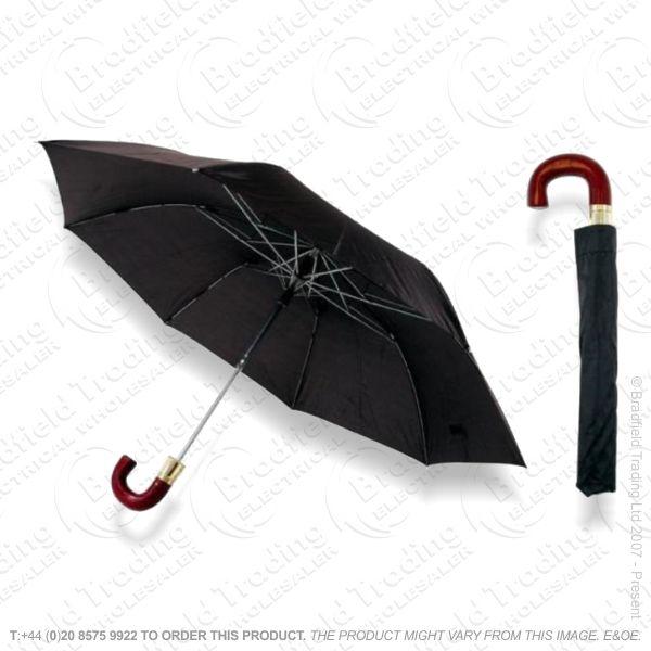 D16) 21  Auto Umbrella Bl Deluxe