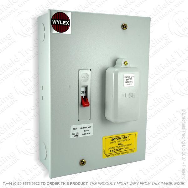 H27) Enclosed Switch Metal Clad 32A WYL