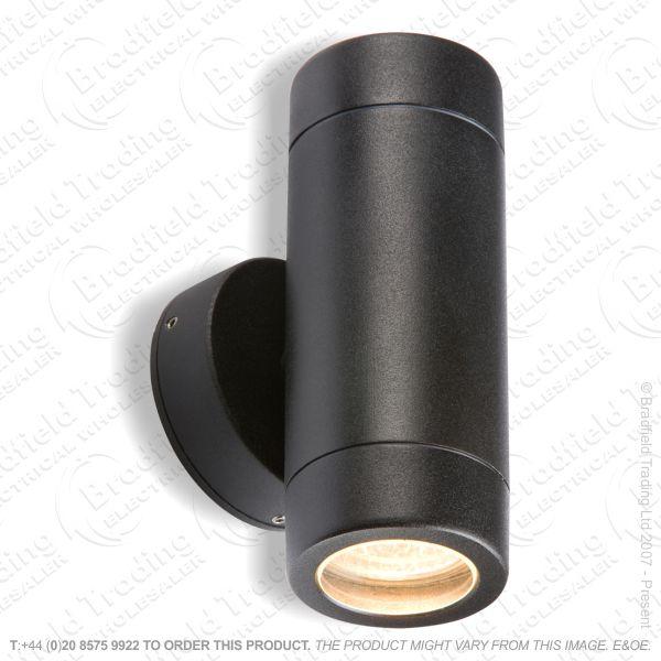 B13) Fitting Spot Light IP65 UpDown GU10 Blac