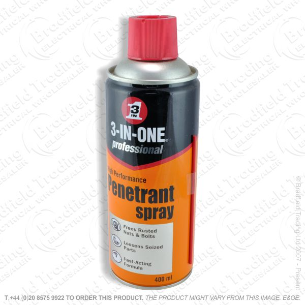 C23) 3in1 Penetrating Oil 400ml Spray