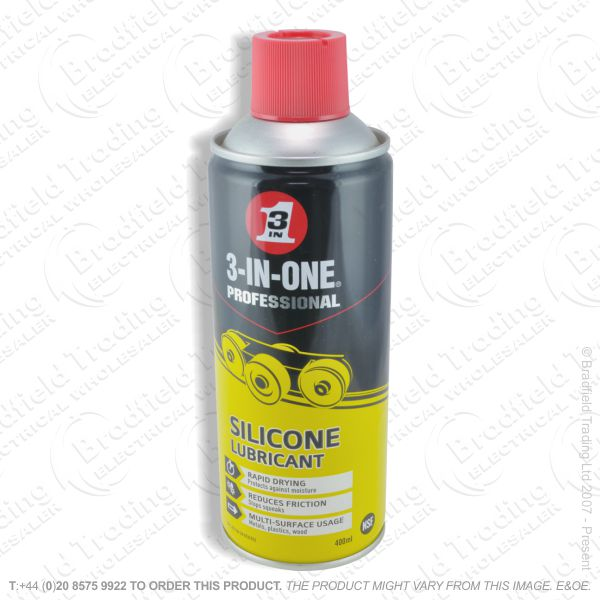 C23) 3in1 Silicone Oil 400ml Spray