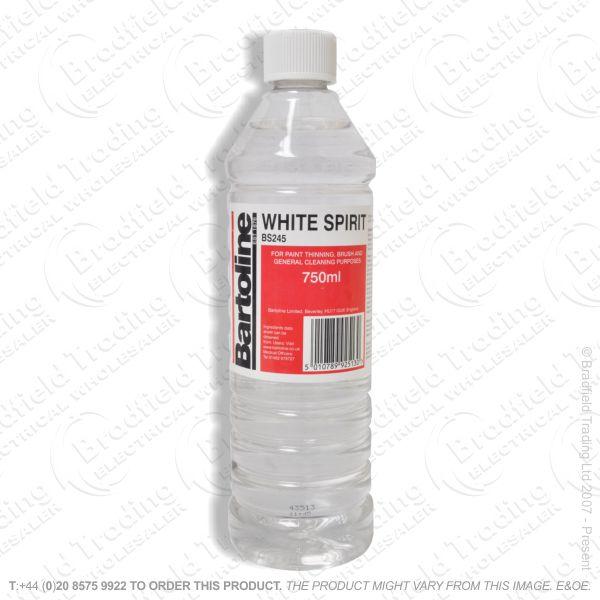 C23) 750ml White Spirit BARTOLINE