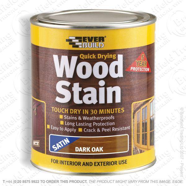 Wood Stain Dark Oak 250ml EVERBUILD