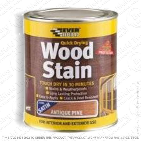 Wood Stain Pine 750ml EVERBUILD