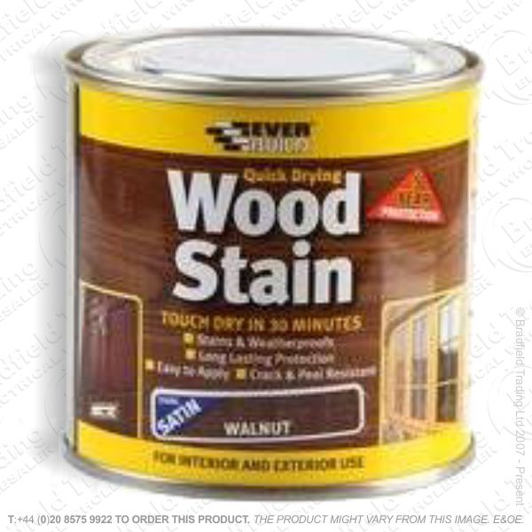 Wood Stain Walnut 750ml EVERBUILD