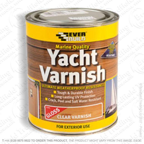 Yacht Varnish Gloss 750ml EVERBUILD